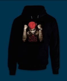 Hooded Pullover Kevin Gates BWA Bread Winners Association Cover by Treedecase, $27.80 USD
