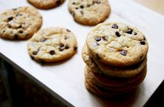 the one that makes it all better [recipe: chewy chocolate chip cookies]