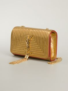 #saintlaurent #bomonogramme #clutches #bags #gold #red  www.jofre.eu