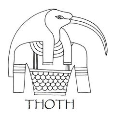 thoth symbol google search god of wisdom and knowledge patron of scribes tattoo ideas. Black Bedroom Furniture Sets. Home Design Ideas