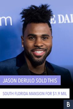 "Jason Derulo, singer and ""So You Think You Can Dance"" judge had ""wiggle"" room to cut his price. Check out his Florida mansion here. Florida Mansion, Jason Derulo, Frugal Tips, Celebrity Houses, South Florida, Photo Credit, Singer, Dance, Mansions"