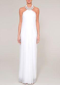 grecian dress | Location: Home / ALL CLOTHING /BEAU - White grecian dress