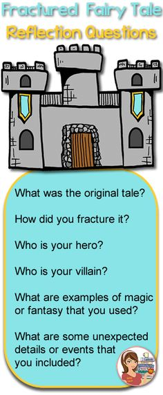 Writing Fractured Fairy Tales - a helpful blog post.