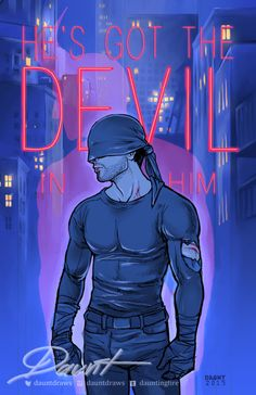 Daredevil by http://daunt.tumblr.com/post/119064330181/im-so-in-love-with-this-show-ahhh-daredevil