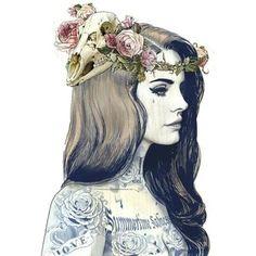 Lana Del Rey ILLUSTRATIVE