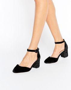 ASOS | ASOS - SPICE - Chaussures à talons en velours
