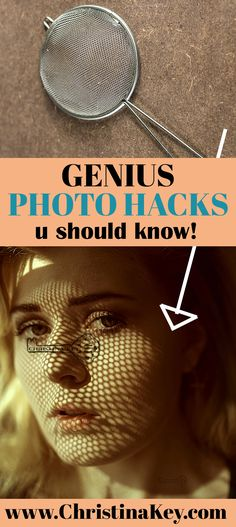 Create amazing photo effects with simple household items Genius Low Budget Fotografie Hacks, die Sie Photography Lessons, Photography Backdrops, Photography Women, Photography Tutorials, Light Photography, Creative Photography, Digital Photography, Amazing Photography, Fashion Photography
