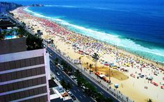 Travel Cityscapes Architecture Buildings Brazil Rio Janeiro Cities Copacabana  Backgrounds