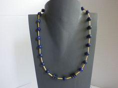 Lapislazuli - Lapislazuli Collier Tamar - ein Designerstück von sibea bei DaWanda