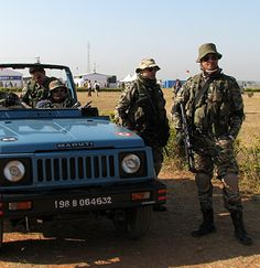 Indian Air Force Garud Special Forces Operators.