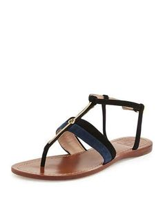 8d5ac543aef X2HHQ Jimmy Choo Wave Leather Thong Sandal