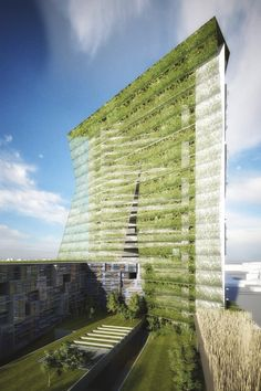 Soa architectes paris projets fermes urbaines for Architecture biomimetique