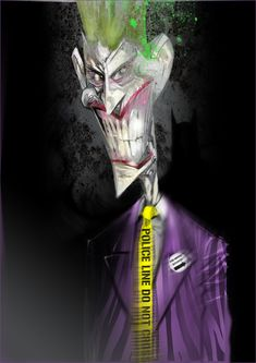 Batman, The Joker, Hell Boy and X-23 as striking illustrations