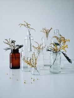 Easy vase idea - recycle glass jars | VSCO