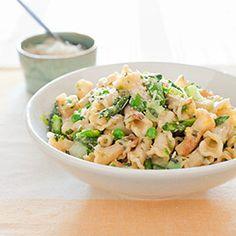 Spring Vegetable Pasta Recipe - America's Test Kitchen from America´s Test Kitchen