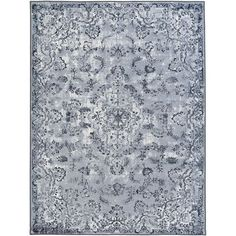 Saturn Austin Gray Rectangular: 5 Ft. 3-Inch x 7 Ft. 3-Inch Rug - (In No Image Available)