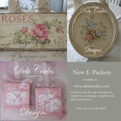 Debi Coules Designs E Packests available at www.debicoules.com