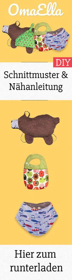 95 besten Schnittmuster Babykleidung - DIY Bilder auf Pinterest in ...