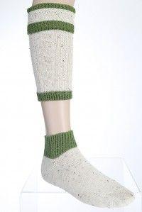 Traditionelle Bekleidung zur kurzen #Lederhose. zweiteiliger #Trachtenstrumpf, auch Loferl genannt aus dem Onlineshop von #Trachtenmoden Riehl