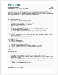 Accountant Resume  Template Download At HttpWriteresume