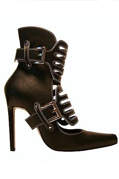 Manolo Blahnik Buckle Boots ... these boots almost made me curse out loud! Seriously.