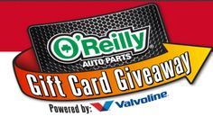 Win a $100 O'Reilly Auto Parts electronic gift card (28 winners)! ENTER SWEEPSTAKES HERE – O'Reilly Auto Parts Sweepstakes page. You may request a free code (just click the link u…