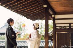 京都ロケーション和装前撮り @東福寺  *ウェディングフォト elle pupa blog*