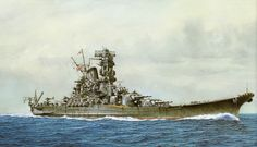 Battleship yamato battle battleship japan japanese navy sea war ww2