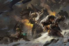 Rise of The Frostwolf Clan, Kan Liu(666K信譞) on ArtStation at http://www.artstation.com/artwork/rise-of-the-frostwolf-clan