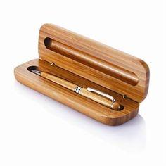 Miljövänlig penna i bambu. Äkta.