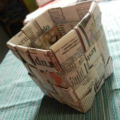 punos-sidos-silmukka: Tätä et voi tehdä verkkolehdellä Diy And Crafts, Arts And Crafts, Handmade Bags, Paper Shopping Bag, Repurposed, Upcycle, Personalized Items, Coffee Bags, Newspaper