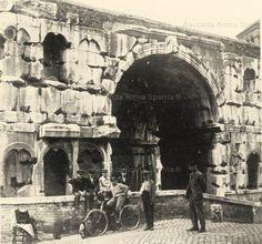 Via del Velabro – Arco di Giano Bifronte Anno: Primi '900
