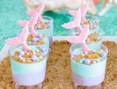 Find and shop thousands of creative projects, party planning ideas, classroom inspiration and DIY wedding projects. Mermaid Party Food, Mermaid Birthday Cakes, Little Mermaid Birthday, Little Mermaid Parties, Mermaid Cakes, Girl Birthday, Birthday Treats, Birthday Party Decorations, Birthday Parties