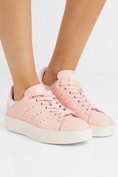 reputable site 14b7a 3ceb9 adidas Originals   Stan Smith Bold leather sneakers   NET-A-PORTER.COM