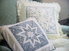 folded star potholder pattern   McCalls 9327 Folded Star sewing pattern pillows, apron, kitchen, craft