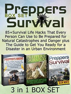 FREE TODAY       Preppers Survival Box Set: 85+Survival Life Hacks That Every Person Can Use to Be Prepared for Natural Catastrophes and Danger plus The Guide to Get You ... prepper's guide,  preppers survival pantry) by Tiffany Ray http://www.amazon.com/dp/B00X4MPQ6O/ref=cm_sw_r_pi_dp_oBeFvb011YM28