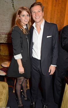 dailymail:  Princess Beatrice and boyfriend Dave Clark attended a book launch, London, October 10, 2014