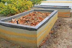 You can use local raw materials to build rammed earth garden beds. From MOTHER EARTH NEWS magazine.
