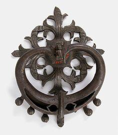 Door Handle  Date: 15th century Culture: German Medium: Iron