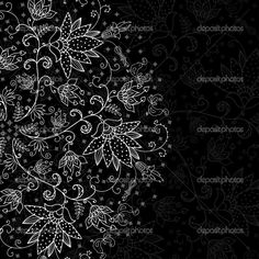 Abstract green background with black lacy mandala pattern. Description from depositphotos.com. I searched for this on bing.com/images