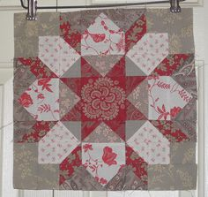 Swoonery by Camille at Simplify....figuring this one out to use with my Kaufman Layer Cake