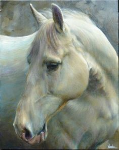 Painted Horses, Paintings I Love, Animal Paintings, Horse Paintings, Horse Drawings, Animal Drawings, Deer Pictures, Animal Magic, Painted Pony