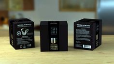 Kitchen accessories packaging design concept
