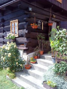 :-) Štramberk Wooden Cottage, Czech Republic, Countryside, Cities, Patio, Places, Outdoor Decor, House, Home Decor