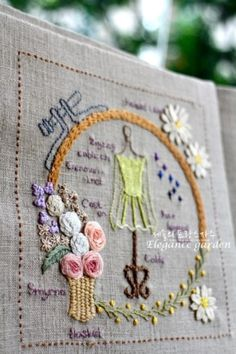 A Case of Buds - DK Designs Brazilian Embroidery pattern & fabric - Embroidery Design Guide Diy Embroidery Patterns, Hand Embroidery Tutorial, Embroidery Sampler, Machine Embroidery Projects, Hardanger Embroidery, Learn Embroidery, Hand Embroidery Stitches, Cross Stitches, Loom Patterns