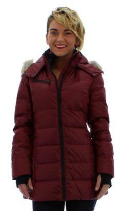 Andrew Marc New York Paris Women's Hooded Down Coat Jacket