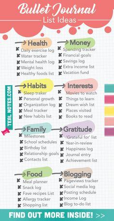 Bullet Journal Lists, Bullet Journal For Beginners, Bullet Journal Aesthetic, Bullet Journal Writing, Book Journal, Bullet Journals, Bullet Journal Ideas How To Start A, Bullet Journal Ideas Templates, Bullet Journal Habit Tracker Printable