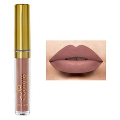 LA-Splash Cosmetics Lip Couture Lipstick (Waterproof) ($14) ❤ liked on Polyvore featuring beauty products, makeup, lip makeup, lipstick, matte lipstick, waterproof lipstick, matte finish lipstick, lips makeup and lips lipstick
