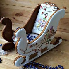icu ~ Pin by Lauree Voigt on Gingerbread Christmas Sugar Cookies, Holiday Cookies, Christmas Desserts, Christmas Treats, Christmas Baking, Christmas Gingerbread House, Noel Christmas, Gingerbread Houses, Xmas