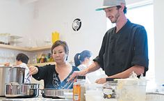CookSpace Hawaii creates opportunities for people to be able to connect with food.